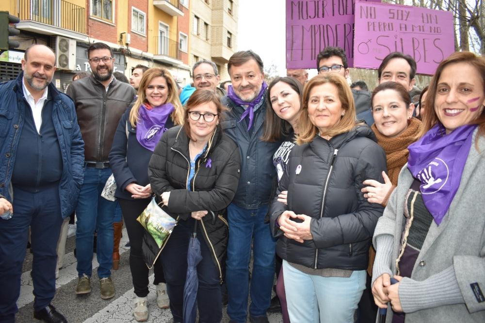 El PSOE de Cuenca secunda la manifestaci�n del 8M