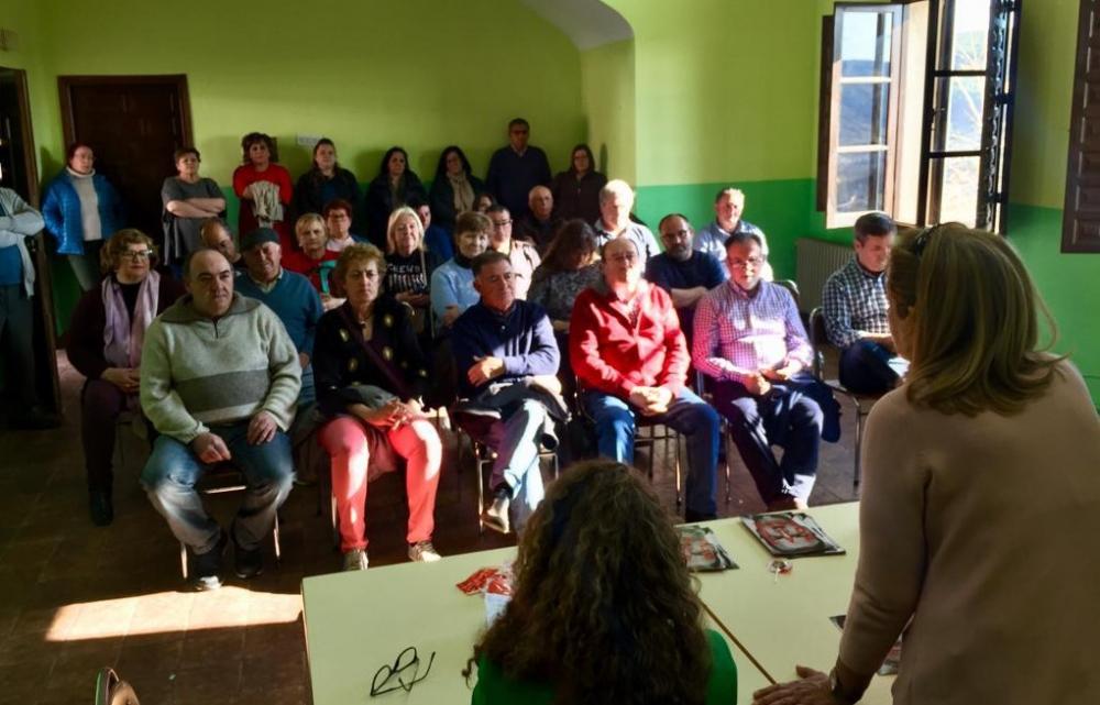 Torralba destaca el compromiso del PSOE con la lucha contra la despoblaci�n