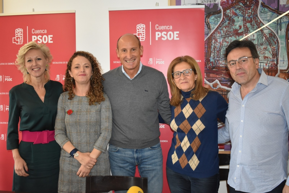 Sahuquillo apela a la necesidad de aglutinar a los votantes moderados de la provincia de Cuenca en torno al PSOE