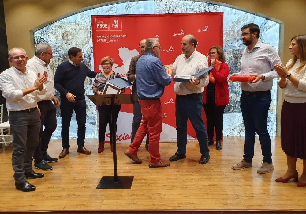 El PSOE de Cuenca destaca el trabajo de su militancia en un a�o