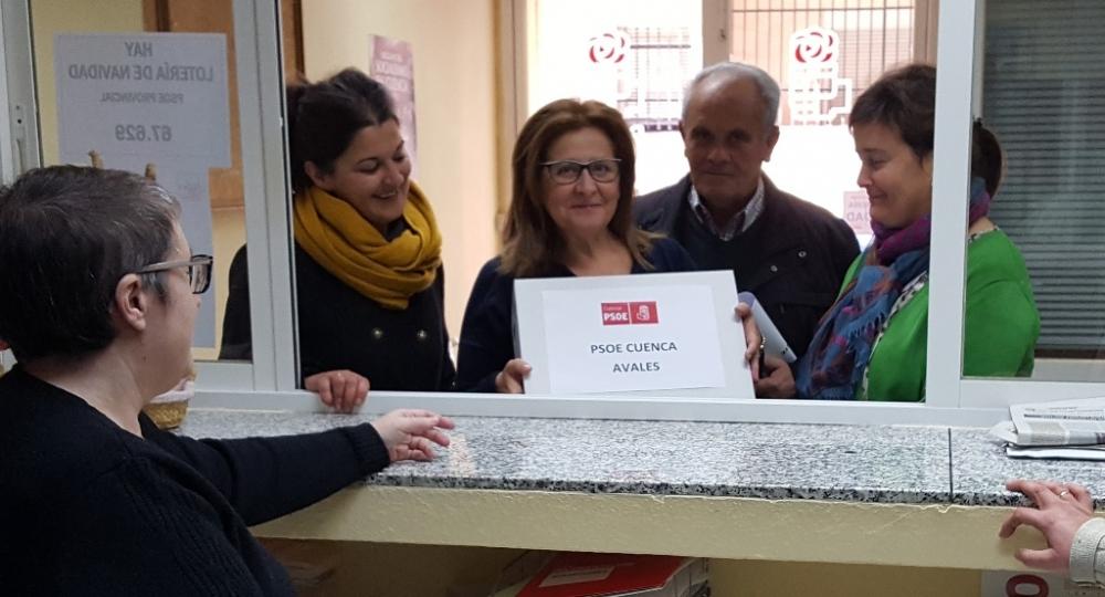 Espectacular respuesta en la recogida de avales para la candidatura de Sahuquillo a la Secretaría General del PSOE de Cuenca