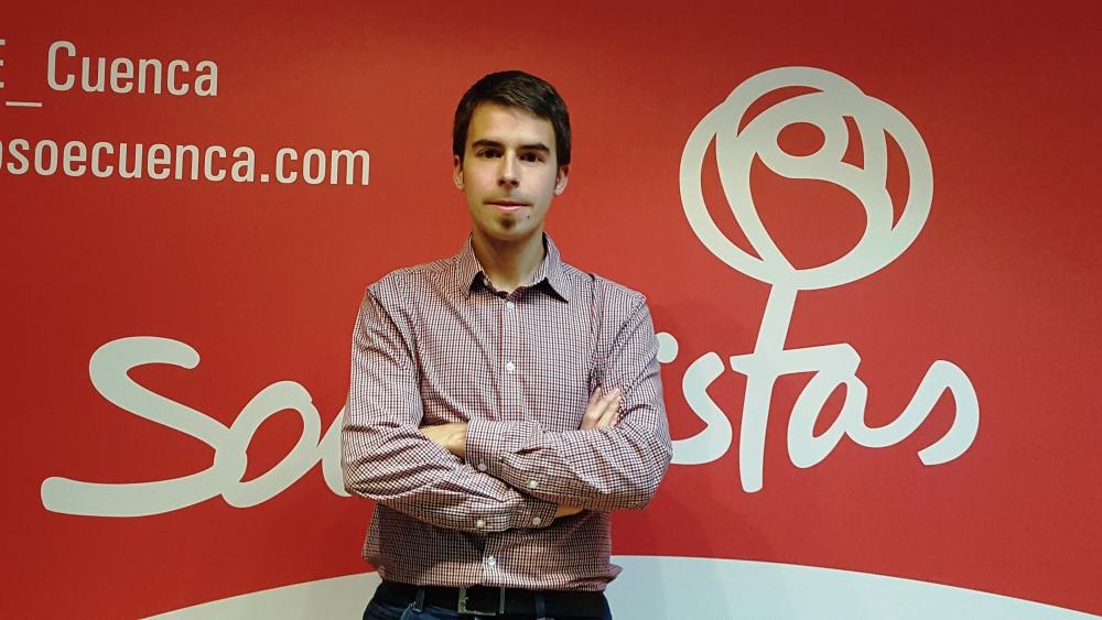 La candidatura de Eugenio Heredia a secretario general de Juventudes Socialistas de Cuenca obtiene el 45% de avales