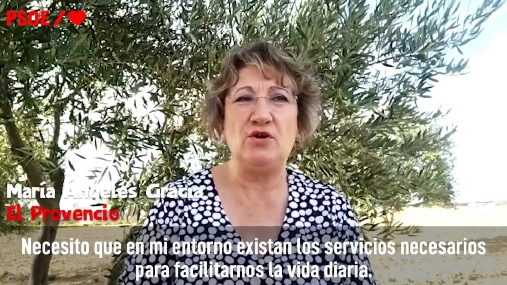 El PSOE incluye a una mujer de El Provencio en el v�deo que ha utilizado a nivel nacional para celebrar el D�a de la Mujer Rural
