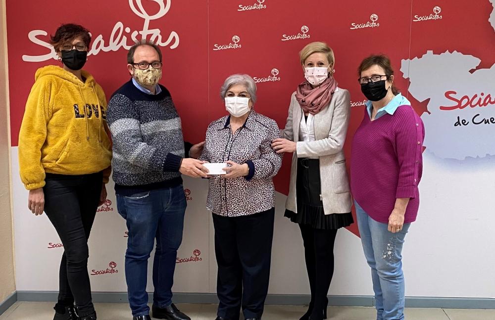 La Agrupaci�n Local del PSOE de Cuenca reonoce a Isabel Rosas Huelga