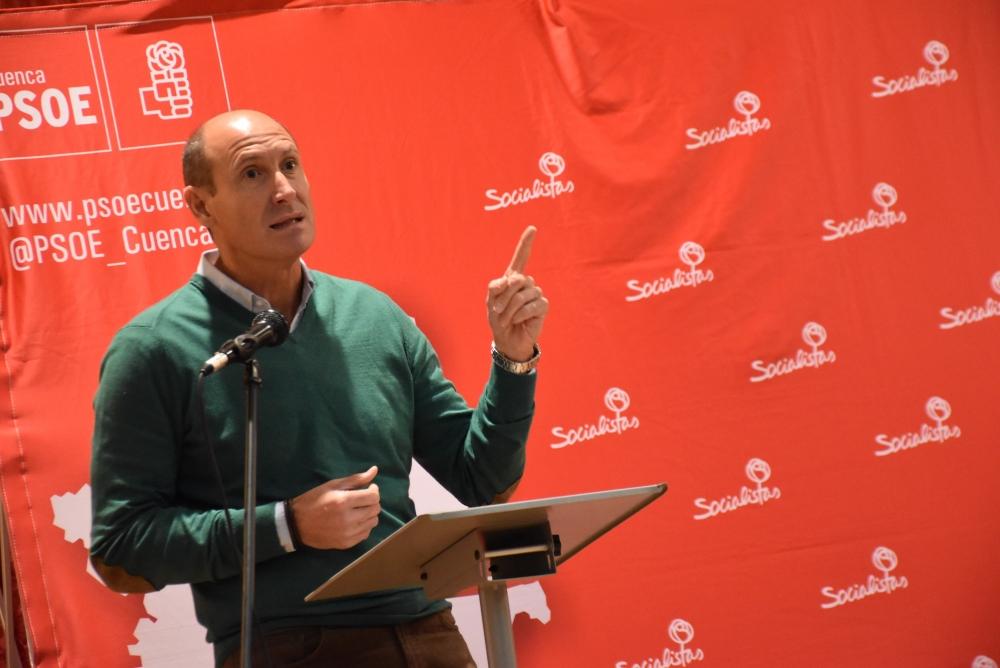 Sahuquillo asegura que el PSOE es el partido que defiende la educaci�n p�blica y las escuelas rurales que producen arraigo al territorio