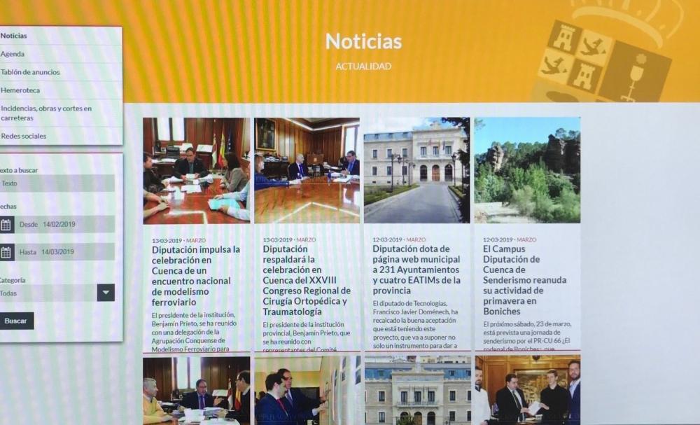 La Junta Electoral Provincial obliga a la Diputaci�n a retirar informaci�n propagand�stica de su p�gina web