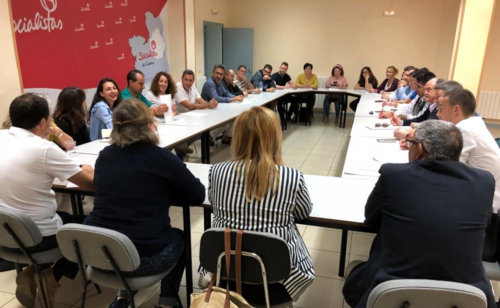 El PSOE de Cuenca imparte una jornada de formaci�n a sus nuevos alcaldes y concejales