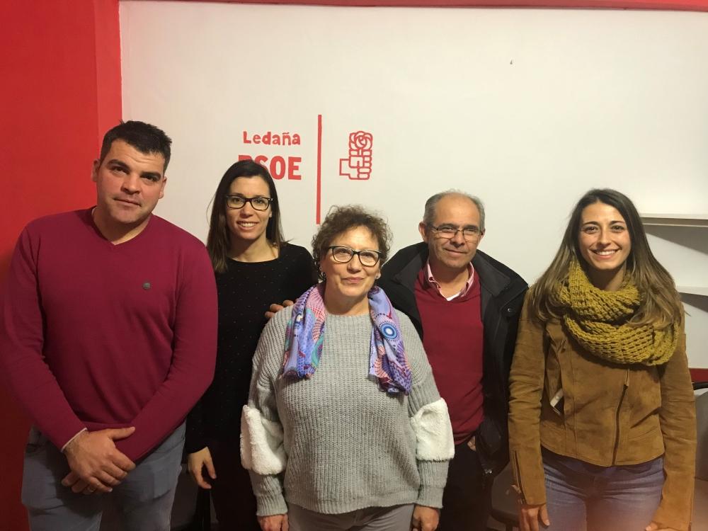 La Agrupaci�n Local del PSOE de Leda�a elige a Rosa Mar�a Plaza como candidata a la alcald�a del municipio