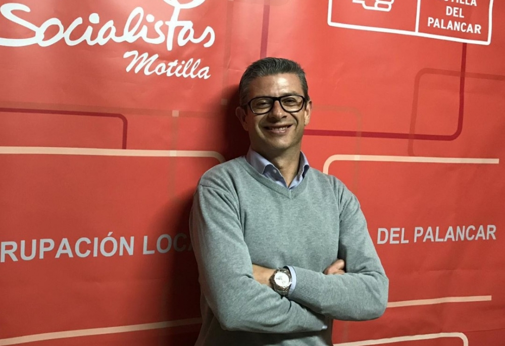 El alcalde de Motilla del Palancar, Pedro Tendero, se presentar� a la reelecci�n