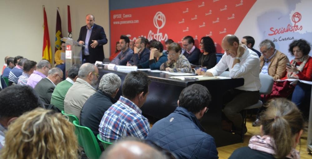 El PSOE de Cuenca celebra este fin de semana su 13� Congreso Provincial, en el que Sahuquillo ser� proclamado secretario general