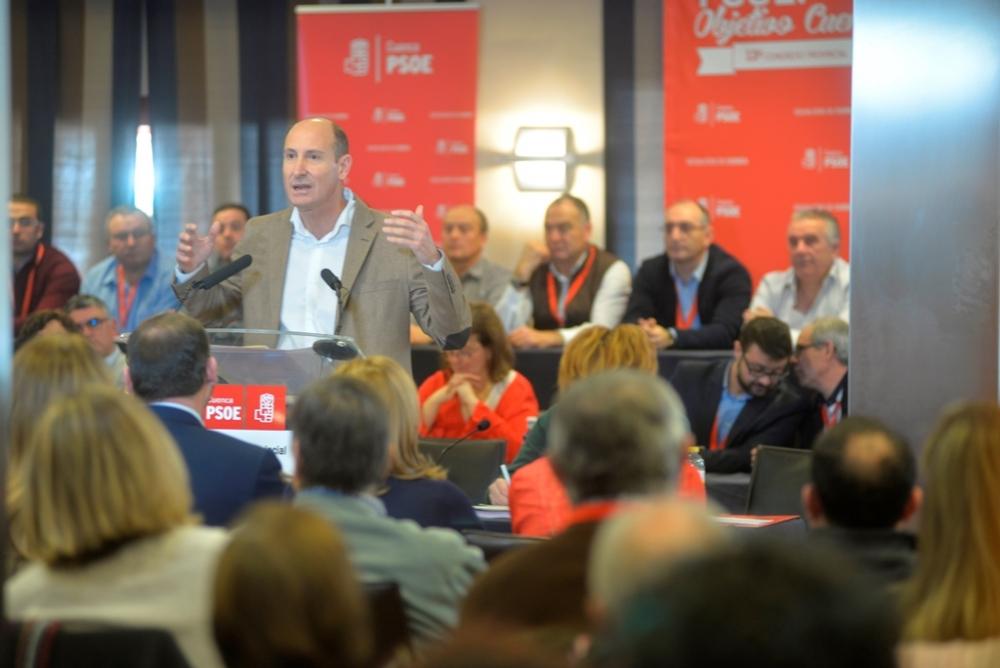 Sahuquillo reivindica la negociaci�n y el di�logo para alcanzar un Pacto por Cuenca