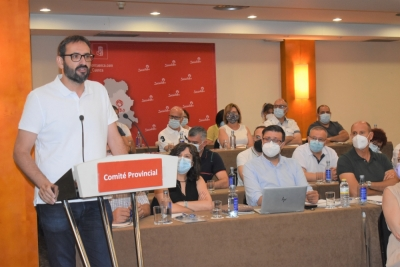 Gutiérrez reivindica al PSOE como el partido del progreso, el regionalismo y la honradez frente a los recortes