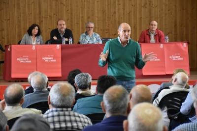 Sahuquillo valora el trabajo realizado por los alcaldes y concejales socialistas y aboga por conformar
