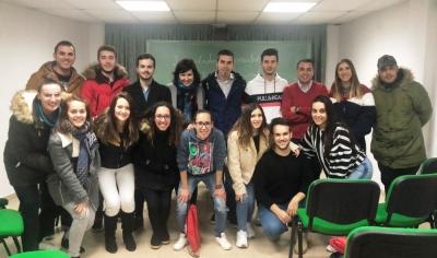 Juventudes Sociales refuerza la Agrupación de Horcajo de Santiago con la incorporación de una decena de nuevos afiliados